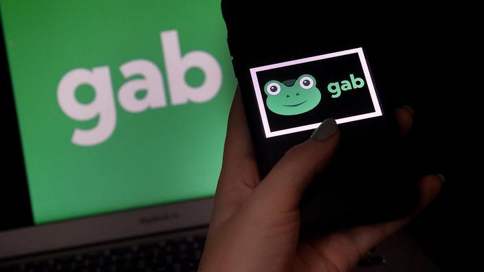 La plateforme conservatrice Gab a été piratée par des militants - Le Figaro