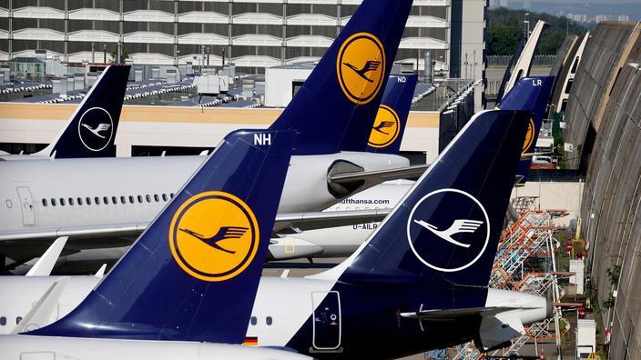 Lufthansa: perte nette record de 6,7 milliards d'euros en 2020 en raison du Covid-19 - Le Figaro