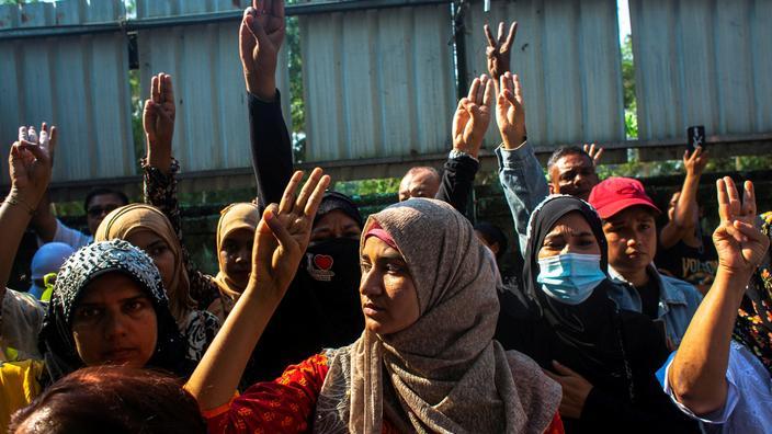 Birmanie: les syndicats appellent à «l'arrêt complet» de l'économie contre la junte