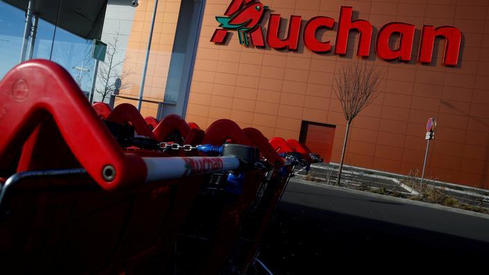 Auchan rappelle des yaourts soupçonnés de contenir des fils métalliques - Le Figaro