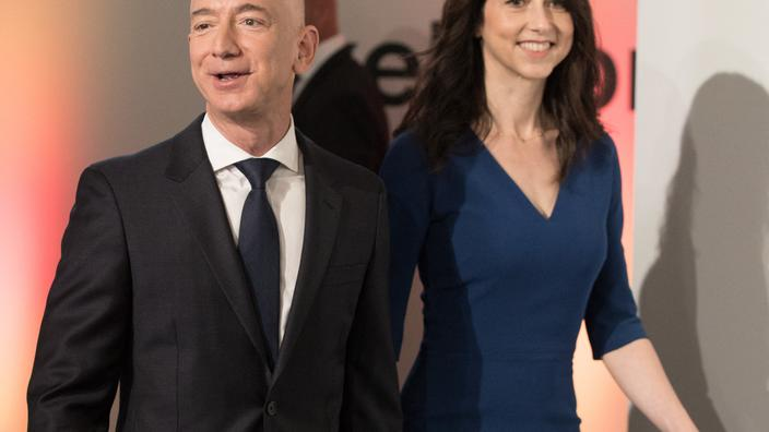 La milliardaire MacKenzie Scott, ex-femme de Jeff Bezos, s'est remariée - Le Figaro