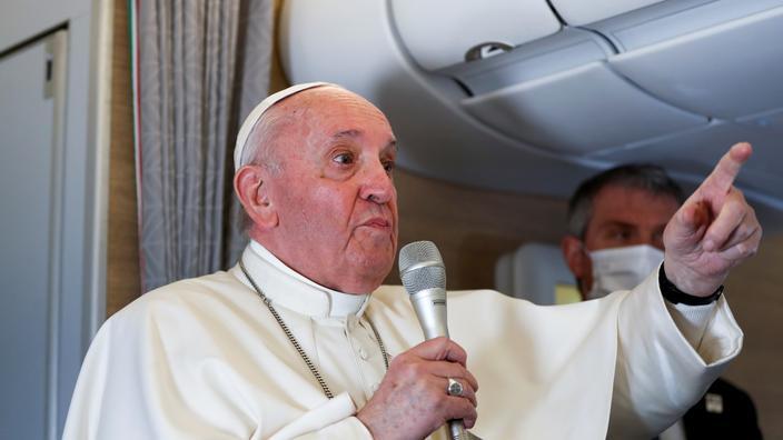 Femmes, santé, islam... Ce qu'a dit le pape François dans l'avion à son retour d'Irak