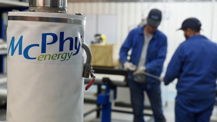 Hydrogène: McPhy va se doter d'une nouvelle usine en France - Le Figaro
