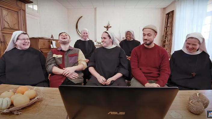 Tibo InShape, McFly et Carlito : quand les Youtubeurs frappent aux portes des religieuses - Le Figaro
