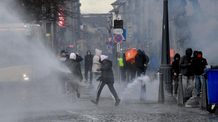 En Belgique, 200 à 300 casseurs à Liège en marge d'une manifestation « Black lives matter » - Le Figaro