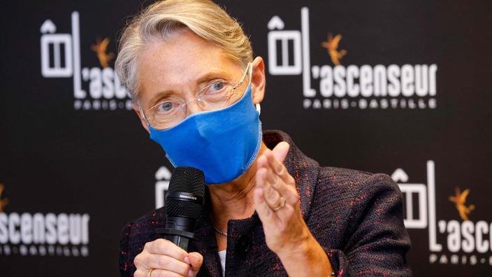 Positive au Covid-19, la ministre du Travail Élisabeth Borne a été hospitalisée