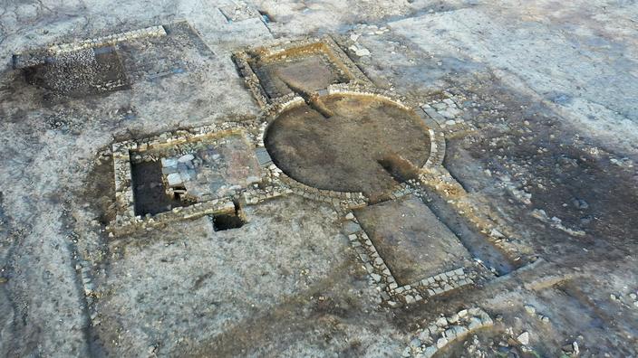 À peine découverte en Angleterre, une épatante villa romaine déjà visitée par des pilleurs