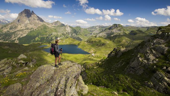 Randonnée au cœur du Béarn, autour du géant d'Ossau