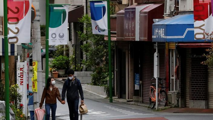 Japon: vers un état d'urgence prolongé et élargi jusqu'à fin mai