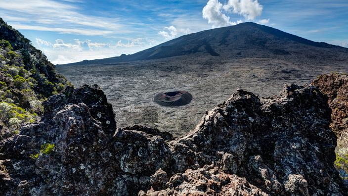 La Réunion: fin de l'éruption volcanique du Piton de la Fournaise