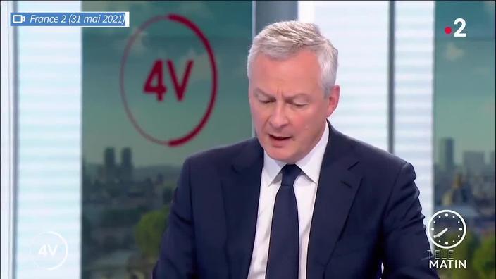 Le déficit public français attendu à 9,4% en 2021, annonce Bruno Le Maire