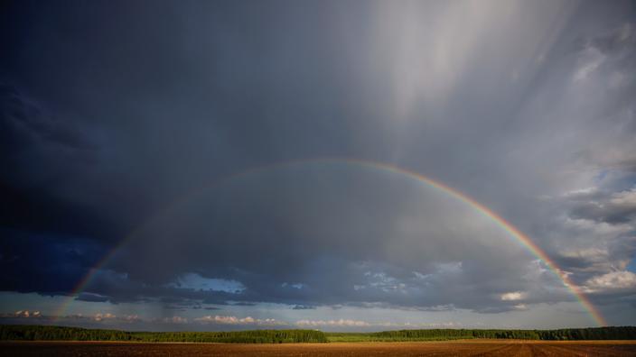 Météo : de fortes pluies orageuses se sont déversées sur une grande partie du pays
