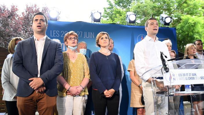 Régionales : Jordan Bardella appelle les Franciliens «à faire le choix de la sécurité» le 20 juin
