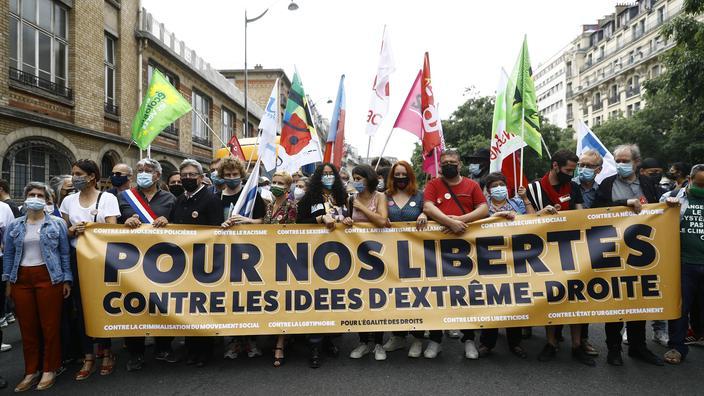 Marche des libertés: «La lutte contre l'extrême droite est ...