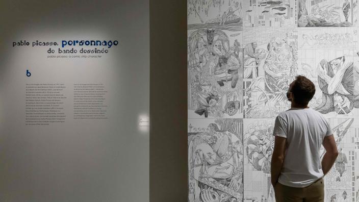 Quand Picasso s'inspirait de la bande dessinée