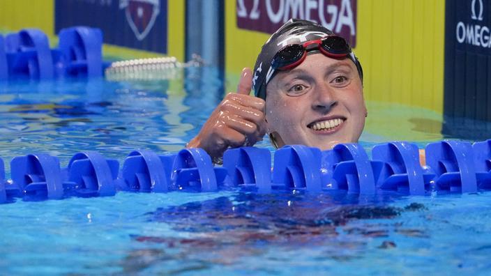 Natation: Ledecky qualifiée pour Tokyo sur 200 m et 1500 m nage libre