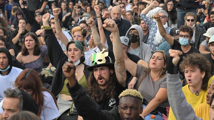 Nantes : près d'un millier de personnes marchent pour les deux ans de la mort de Steve