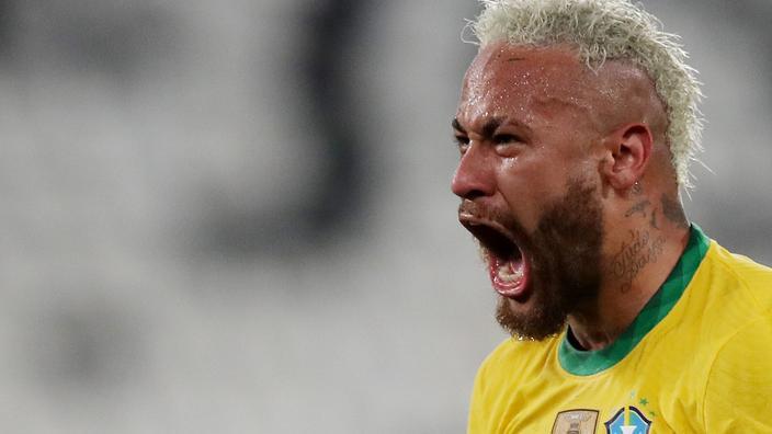 Copa America: Brésil renverse la Colombie, Neymar à nouveau décisif
