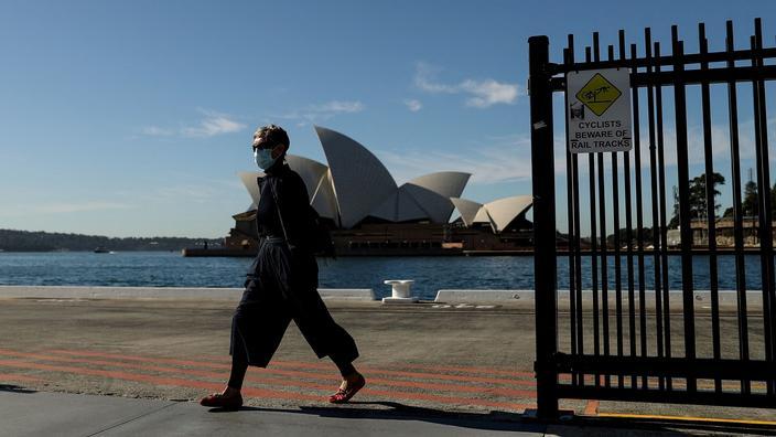 Covid-19: le confinement à Sydney prolongé de deux semaines
