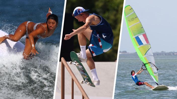 JO : Surf, skate, planche à voile... 5 bonnes raisons de mettre le réveil dans la nuit de samedi à dimanche