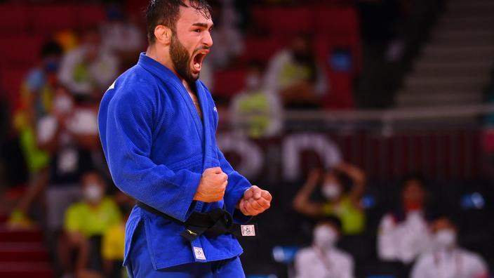 JO : le judoka Luka Mkheidze en bronze, première médaille pour la France à Tokyo