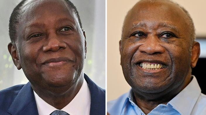 Côte d'Ivoire: l'espoir d'une réconciliation avec la rencontre Ouattara-Gbagbo
