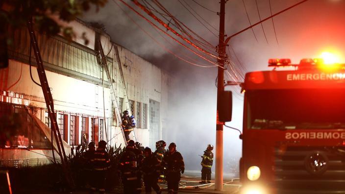 Brésil: un incendie détruit 2.000 copies de films de la Cinémathèque