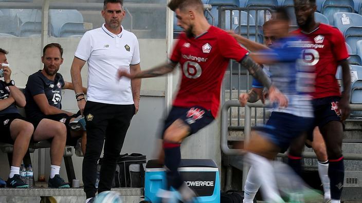 Gourvennec, calme plat au mercato... Où en est Lille avant le Trophée des champions face au PSG