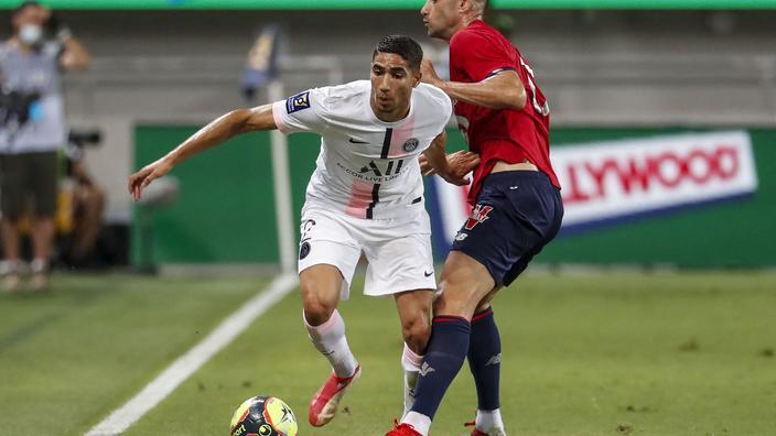 Foot : l'international marocain du PSG Hakimi sifflé à Tel Aviv