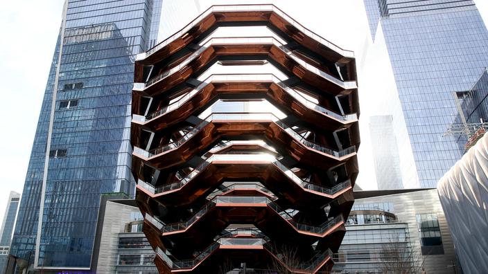 Tollé à New York après le suicide d'un adolescent au Vessel, l'emblème des Hudson Yards