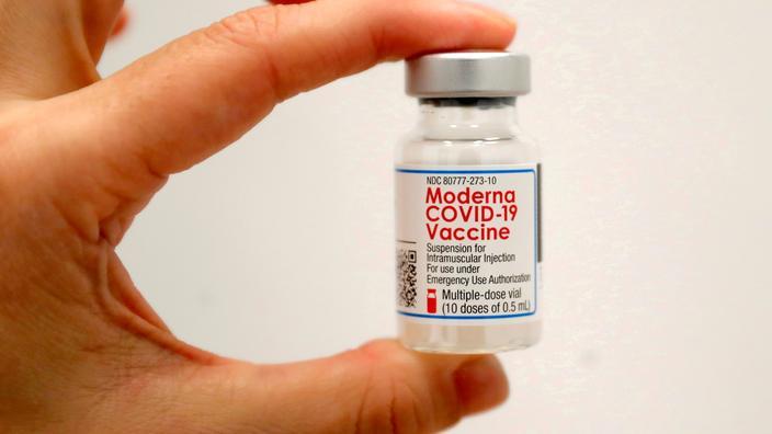 Covid-19 : Le vaccin de Moderna reste efficace au moins six mois - Le Figaro