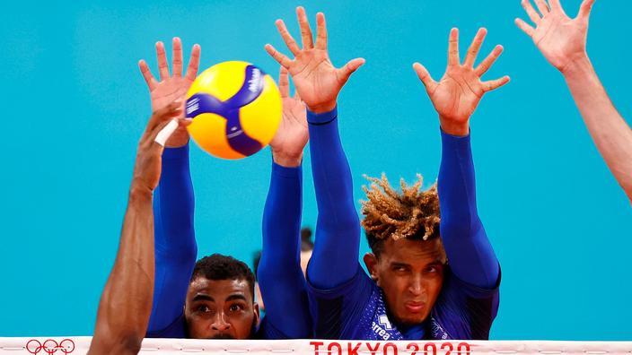 JO: la demie des volleyeurs français en direct