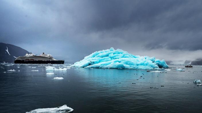 Cap sur la banquise à bord du Commandant Charcot, le premier navire de haute exploration polaire