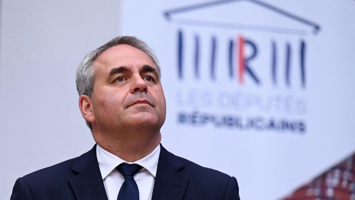 Présidentielle 2022 : Xavier Bertrand va annoncer ses propositions sur le thème de la sécurité aujourd'hui
