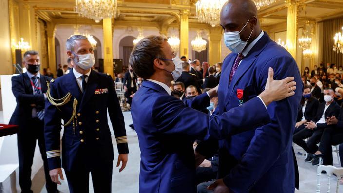 «Je n'ai jamais attaqué le président de la République» : Teddy Riner répond aux polémiques