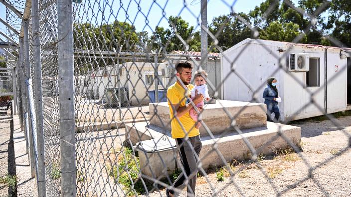 La Grèce inaugure à Samos son premier camp «fermé» pour demandeurs d'asile