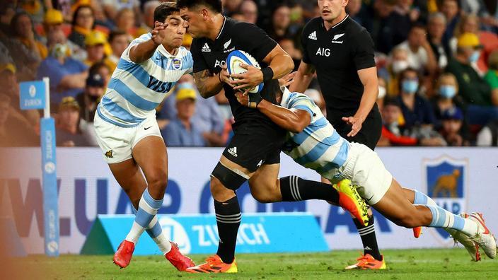 Championship : faciles face à l'Argentine, les All Blacks s'envolent