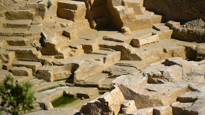 La carrière grecque de Marseille pourrait être «réenfouie» pour assurer sa conservation