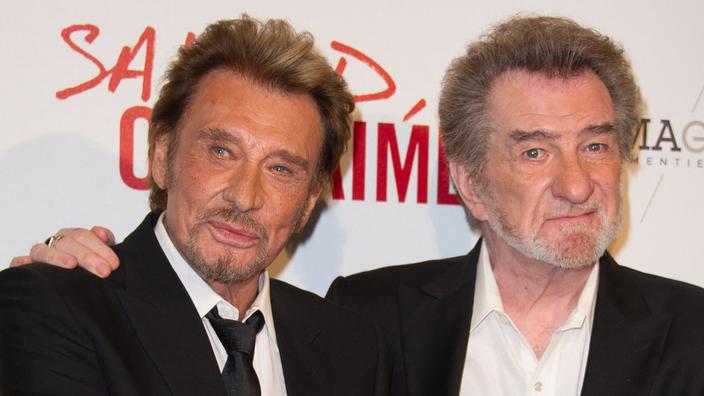 Eddy Mitchell critique le concert hommage à Johnny Hallyday et la statue «à la con» érigée à Paris