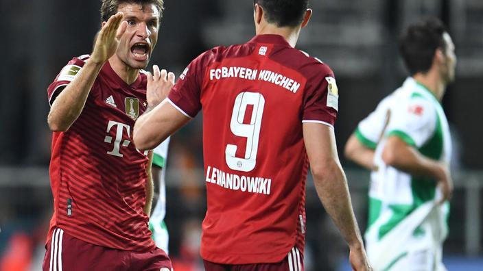 Pavard voit rouge mais le Bayern s'impose sans souci face aux promus de Greuther Fürth
