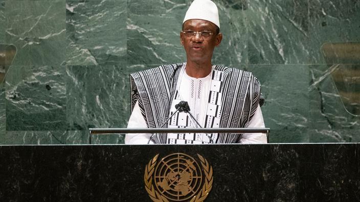 À l'ONU, le premier ministre malien accuse la France d'«abandon en plein vol»