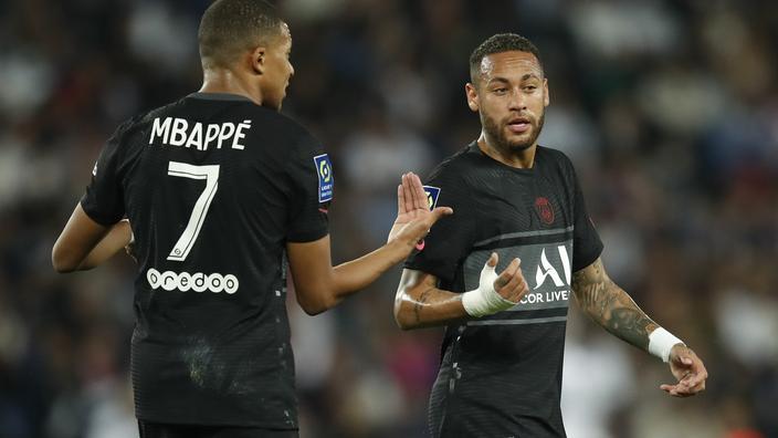 «Ce clochard, il ne me la passe pas»: tension et explication entre Mbappé et Neymar
