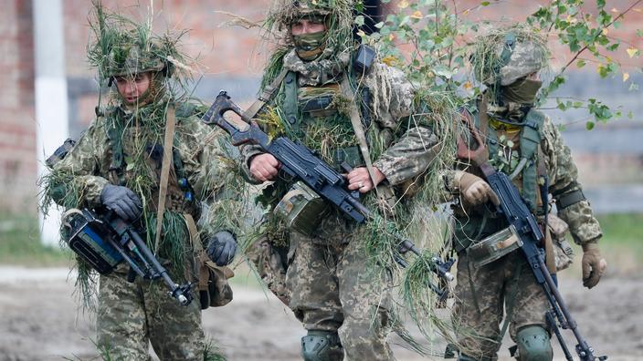 Ukraine : deux morts sur le front de l'Est séparatiste