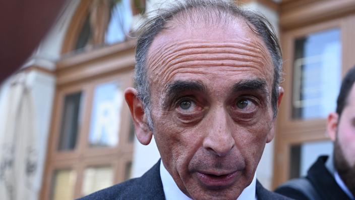 Eric Zemmour menacé de mort en pleine rue à Paris