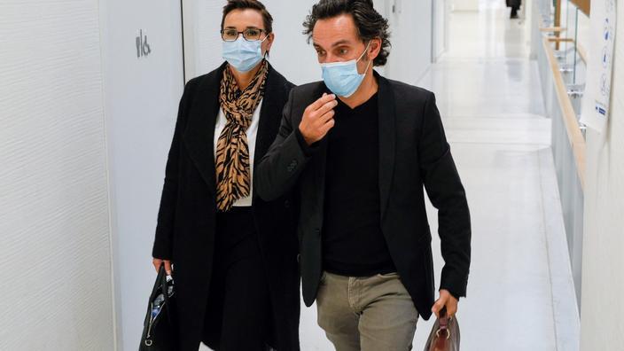 «Il m'a poursuivi avec un couteau de boucher», la haine d'Alexandre et Yann Moix éclate au tribunal