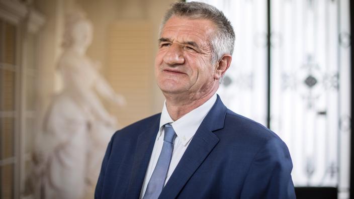 Présidentielle 2022 : Jean Lassalle candidat