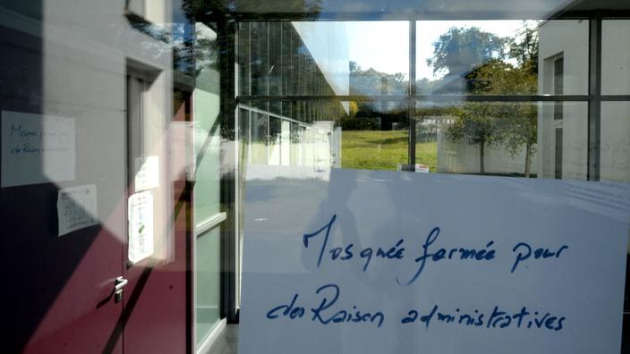 Mosquée fermée près du Mans : enquête ouverte pour «apologie de terrorisme»
