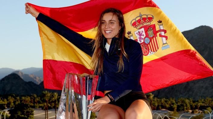 L'Espagnole Paula Badosa remporte le tournoi d'Indian Wells