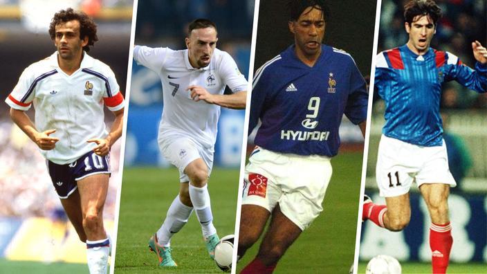 Regarder la vidéo Football : ces joueurs de l'équipe de France passés devant la justice