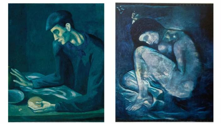 Caché sous une toile de 1903, un nu de Picasso «restauré» à l'aide de l'intelligence artificielle